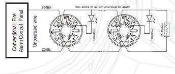 360 degree 2 alarm led light smoke detector for 24v coventional