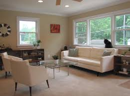 living room recessed lighting interior design