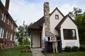 ford to help fund construction of 1 5 million tiny home