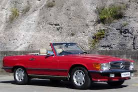convertible mercedes red sold mercedes benz 560sl convertible auctions lot 4 shannons
