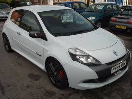 renault motor used renault clio renaultsport for sale motors co uk
