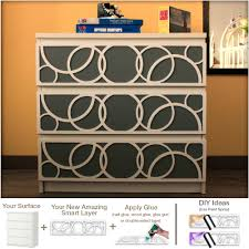 Panels For Ikea Furniture by Diy Overlays Furniture Appliques Makeover Fretwork