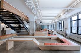 horizon media new york city an office space made by a i photo