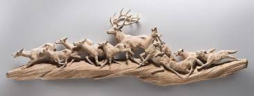 small wooden sculptures realistic wooden animal sculptures by giuseppe rumerio designwrld
