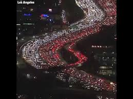 thanksgiving traffic los angeles 2017