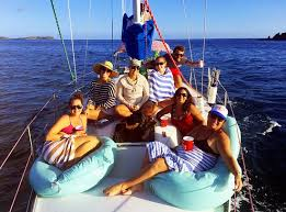 Bean Bag Chairs For Boats Enjoy Our Bean Bag Chairs On The Foredeck Picture Of Happy