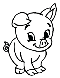 Coloring Page Of A Pig Coloring Page Pig Free Coloring Pages Piggy Pig Coloring Pages