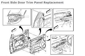 2006 Chevy Hhr Interior Door Handle Door Handles How To Install Replace Outside Door Handle Nissan