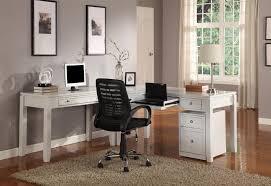 Sauder L Shaped Desks by White L Shaped Computer Desk 145 Cool Ideas For Sauder Harbor View