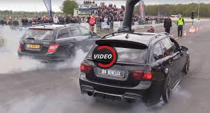 bmw 335i horsepower mercedes c63 amg and 900 hp bmw 335i engage in burnout war