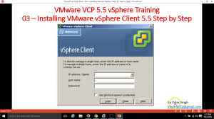 install windows 10 esxi 5 5 how to install vmware vsphere client 5 5 client step by step youtube