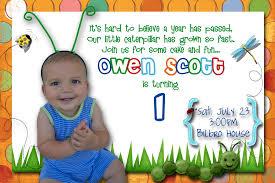 cute first birthday invitation wording iidaemilia com