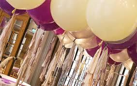 large balloons wedding wishlist large tasselled balloons