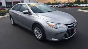 toyota financial full website used certified one owner 2016 toyota camry le carson city nv