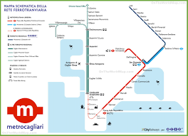 Rome Subway Map by Cagliari Metro Map