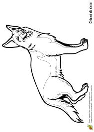 coloriage chiens de race le berger allemand