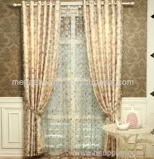 Yarn Curtains Floral Yarn Curtains Living Room Bedroom Modern Chinese Curtain