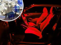 Navara D40 Interior Red Interior Led Bulb Kit Set Lighting Spare Part For Nissan