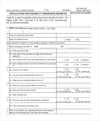 social security disability form social security disability appeal