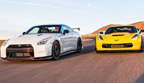 nissan gtr vs toyota supra watch nissan u0027s gt r nismo take on the corvette z06 in a horsepower
