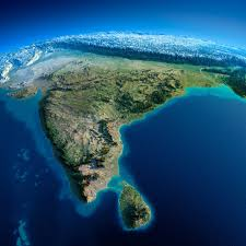Sri Lanka Map Blank by Exaggerated Relief Map Of India U0026 Sri Lanka India Pinterest