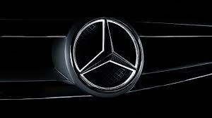 mercedes logo black and white illuminated star mercedes benz of fort mitchell