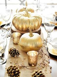 Centerpieces For Thanksgiving Decorating Stylish Gold Thanksgiving Tablescapes 20 Traditional