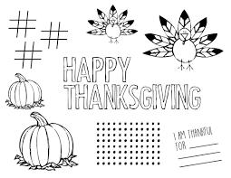 thanksgiving placemat thanksgiving placemat regular paper trail design
