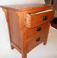 Mission Style Nightstand Furniture