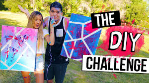 Challenge Alx The Diy Challenge Laurdiy Vs Alex Wassabi