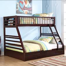 ACME Furniture Jason XL Twin Over Queen Bunk Bed In Espresso - Twin over queen bunk bed