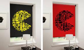 Window Blinds Design Retro Video Game Themed Designer Window Blinds