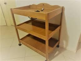 Boori Sleigh Change Table Boori Sleigh Royale Cot Change Table Cots Bedding Gumtree