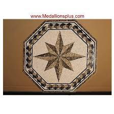 sante fe 60 octagon mosaic floor medallion medallionsplus com