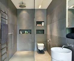 Grey Modern Bathroom Grey Tile Bathroom Simpletask Club