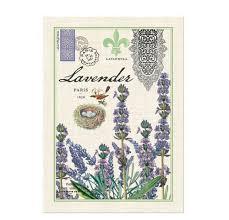 michel design works cotton dish kitchen tea towel u2013 lavender plant