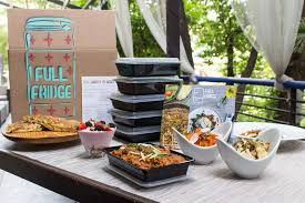 gourmet food delivery fridge blends tech gourmet cooking for meal delivery in