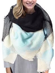 plaids en laine grand tartan echarpe mode femme plaid en laine tissu glands châle