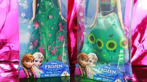 frozen fever princess elsa anna disney short movie barbie