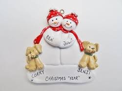 baby s personalized family ornaments