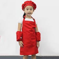 baking art painting kids kitchen cooking apron craft pocket aprons