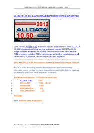 alldata 10 5 5 in 1 auto repair software workshop service