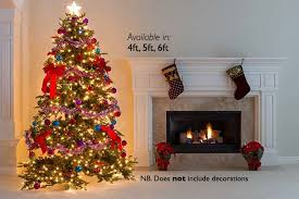 thick artificial tree 3 sizes