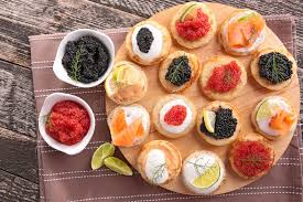 canapes finger food canapes finger food stock photo image of luxury 45430376
