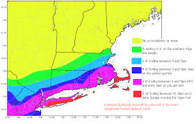 Snowfall Totals Map Midday Blizzard Update Weather In The Hud