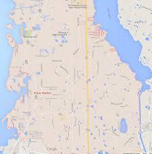 Lakeland Florida Map by Palm Harbor Florida Map