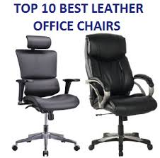 Best Leather Desk Chair The Best Office Chairs Under 100 In 2017 Ultimate Guide