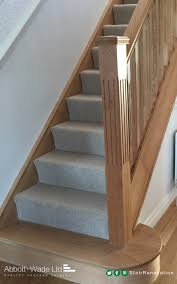 Stair Options by A Fluted Oak Newel Post With An Oak Feature Step Ideas For The