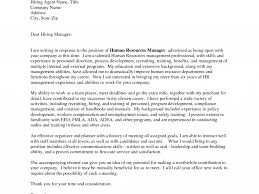 Cover Letter Hr Manager Super Design Ideas Hr Cover Letter 3 Outstanding Examples Cv