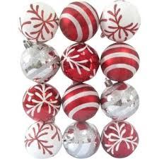 large white ornaments wayfair
